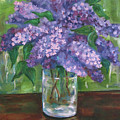 Lilacs by Jennifer Christenson
