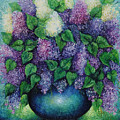 Lilacs No 1. by Evgenia Davidov