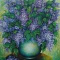 Lilacs No 2. by Evgenia Davidov