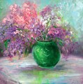 Lilacs by Sally Seago