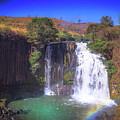 Lili Waterfall  by Louloua Asgaraly