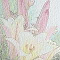 Lilies. Flowers And Buds. by Gerlya Sunshine