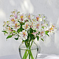 Lilies In A Vase 001 by George Bostian