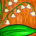 Lilies Of The Valley Dark by Beth Akerman