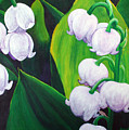 Lilies Of The Valley by Karen Aune