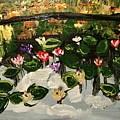 Lilies  by Richard Dalton