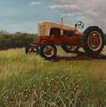 Lillians Tractor by Vicky Gooch