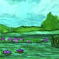 Lily Pond by Leti C Stiles
