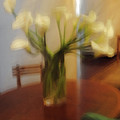 Lillies On The Table by Jost Houk