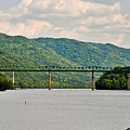 Lilly Bridge - Hinton West Virginia by Kerri Farley