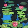 Lilly Pond by Cynthia Riley