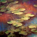 Lilly Pond In Autum  by Renee Shular