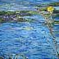 Lily Pads by Impressionist FineArtist Tucker Demps Collection