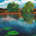 Lily Pond A La Torrie by Dee Flouton