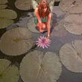 Lilypad Fairy by Patricia Ridlon