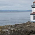 Lime Kiln Lighthouse Panorama by Dan Sproul