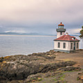 Lime Kiln Point Lighthouse by Tom Singleton