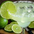 Lime Margarita Drink by Teri Virbickis