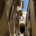 Limestone And Sharp Shadows - Old Town Noto Sicily Italy by Georgia Mizuleva