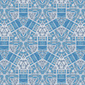 Limestone Blocks Mosaic by Judi Suni Hall