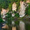 Limestone Bluffs Along Upper Iowa by Panoramic Images