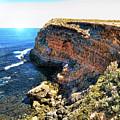 Limestone Cliff by Douglas Barnard
