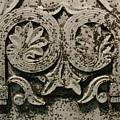 Limestone Grave Carving by Jon Benson