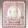 Lincoln 3 Cent Stamp by James Neill
