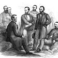 Lincoln And His Generals Black And White by War Is Hell Store