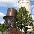 Lincoln At The Tower by Jost Houk