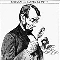 Lincoln Cartoon, 1873 by Granger