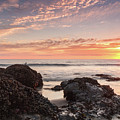 Lincoln City Beach Sunset - Oregon Coast by Brian Harig