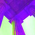 Lincoln Column Purple by Jost Houk