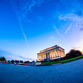 Lincoln Memorial Twilight by Chris Bordeleau