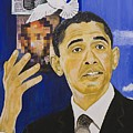 Lincoln Obama by Boz  Vakhshori