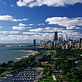 Lincoln Park And Diversey Harbor by Panoramic Images
