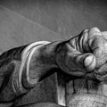Lincoln's Left Hand B-w by Christopher Holmes
