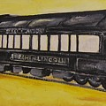 Lincons Funeral Car by Todd Artist