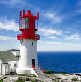 Lindesnes Lighthouse - Norway's Oldest by Daniel Hagerman