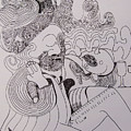 Line Art Smoker by James Lavott