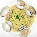 Linguine With Clams by Annie Babineau