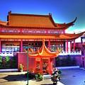 Lingyen Mountain Temple 9 by Lawrence Christopher