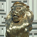 Lion At Mgm by Dotti Hannum