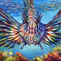 Lion Fish by Nancy Tilles