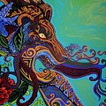 Lion Gargoyle by Genevieve Esson