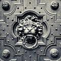 Lion Head Door Knocker by Adam Romanowicz