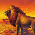 Lion King  by Leland Klanderman