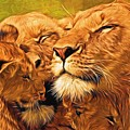 Lion Love #2 by Will Barger