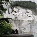 Lion Monument Lucerne Switzerland by Greg Sharpe