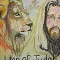Lion Of Judah by Cindy Helmoski